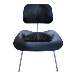 Modern Eames for Herman Miller Black Dining Chair For Sale