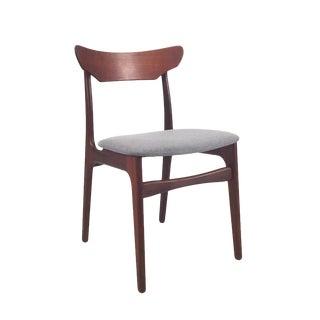 Vintage Danish Teak Dining Chair For Sale