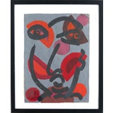 """Image of Peter Keil Abstract Painting, """"Miro"""", Paris, 1975 For Sale"""