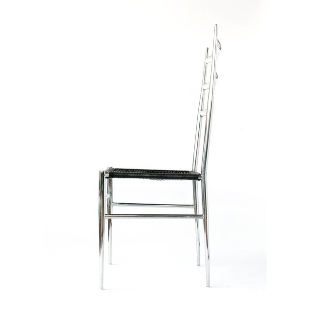 Gio Ponti Style Superleggera High Back Chair For Sale In New York - Image 6 of 12