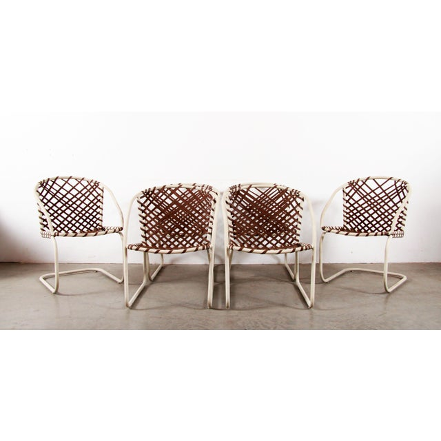 Mid Century Modern Brown Jordan 6pc Patio Dining Chairs - Set of 6 For Sale - Image 12 of 12