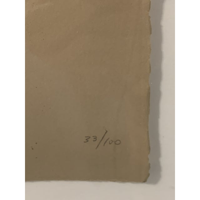 1969 Abstract Expressionist Pencil Signed Adolph Gottlieb Lithograph For Sale - Image 4 of 8
