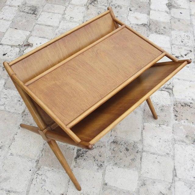 Mid-Century Modern 1950s t.h. Robsjohn-Gibbings for Widdicomb Magazine Table For Sale - Image 3 of 8