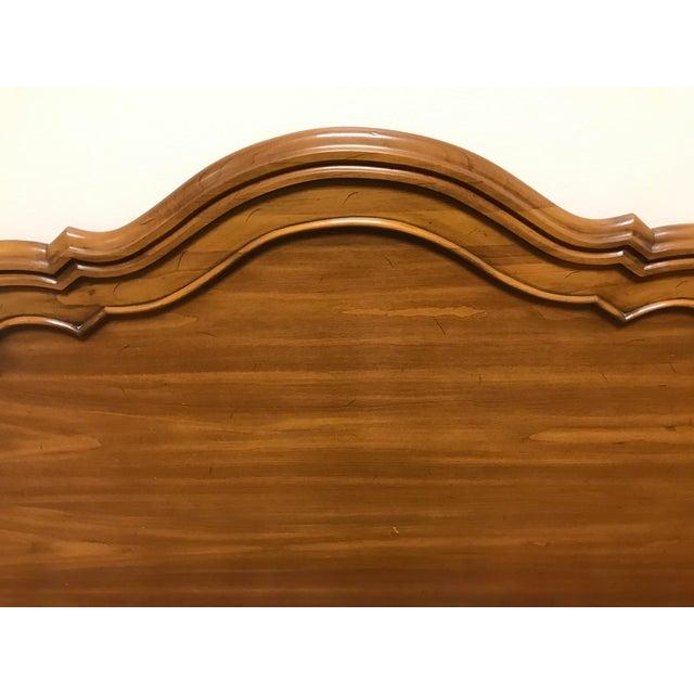 Mid 20th Century John Widdicomb Maker of Fine Furniture Full Double Bedframe For Sale - Image 5 of 13