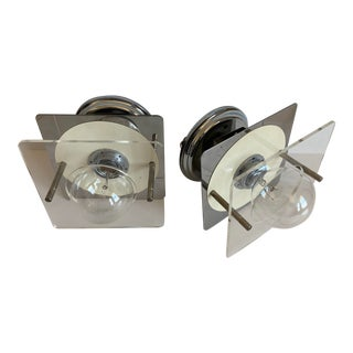1960s French Modern Wall Lights - a Pair For Sale