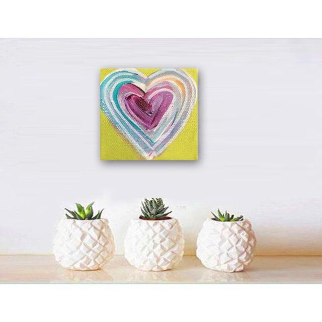 'Tropical Heart' Original Painting by Linnea Heide - Image 2 of 4