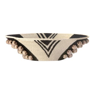 Envelope Large Basket Black/cream/flax For Sale