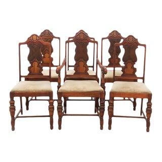 Vintage & Used Mahogany Dining Chairs | Chairish