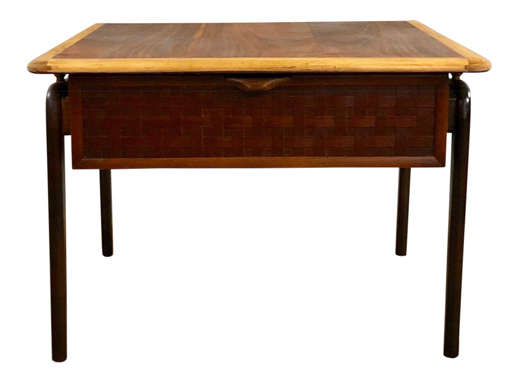 1960s Mid Century Modern Lane Furniture Side Table For Sale