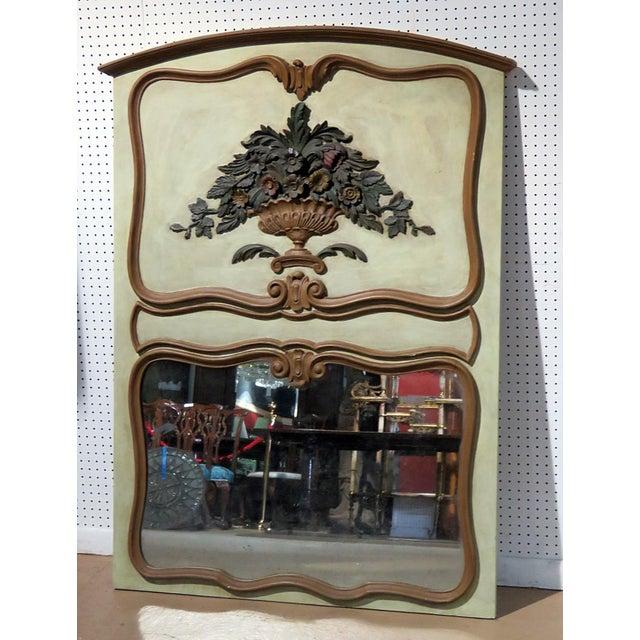 Italian Trumeau Wall Mirror For Sale In Philadelphia - Image 6 of 6