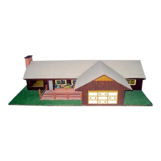 C.1970s Ranch Style Dollhouse