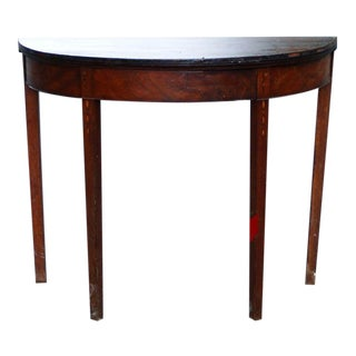 Late 18th Century Antique Hepplewhite Game Table