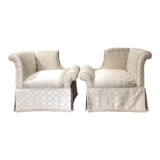 Custom Chic Armchairs by Godwin Century - A Pair