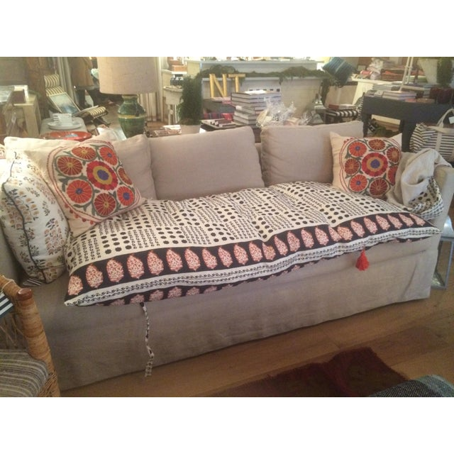 Sister Parish Moroccan Day Bed Cushion For Sale - Image 4 of 10