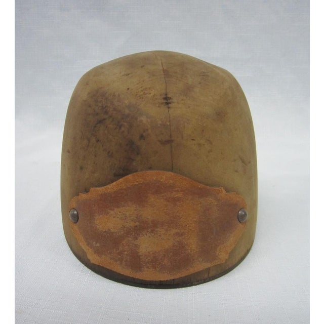 Antique Wooden Hat Mold - Image 2 of 4