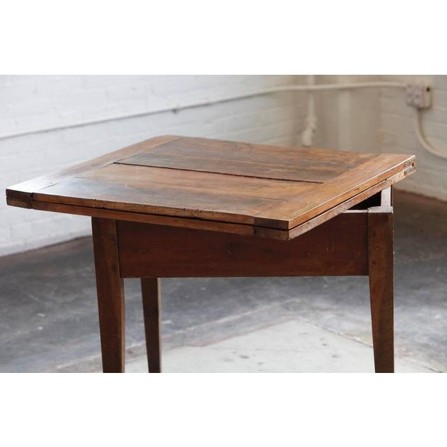 Late 19th Century Card Table with Tilt Top Mechanism For Sale - Image 9 of 10