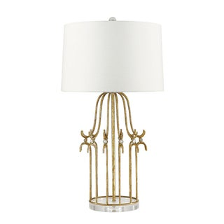 Stella Gold Metal Table Lamp Preview