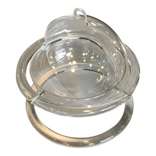 Mid-Century Dorothy Thorpe Lucite Acrylic Serving Bowl With Lid For Sale