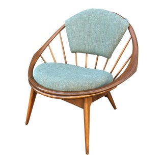 Ib Kofod Lawsen for Selig Hoop Chair For Sale