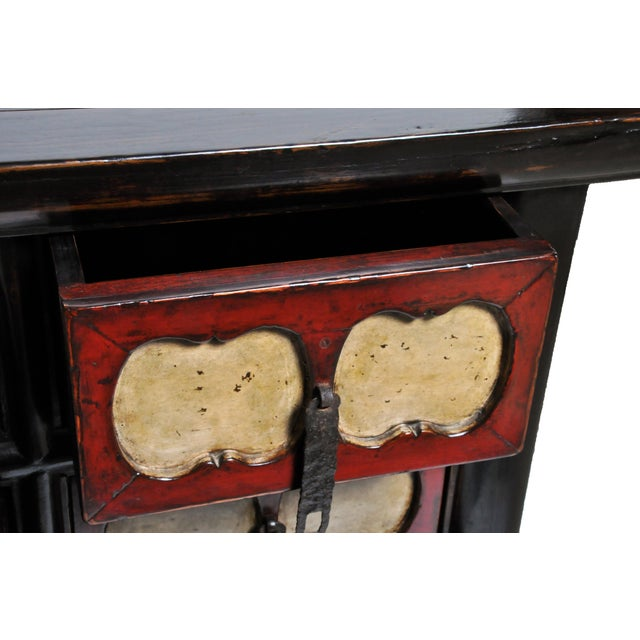 Chinese Side Chest with Nine Drawers For Sale - Image 11 of 13