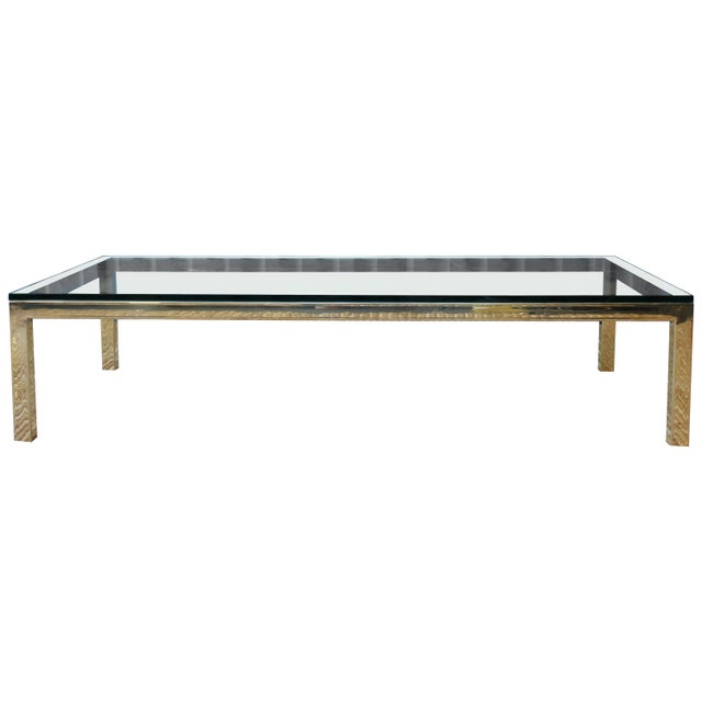 Brass Plated Coffee Table by James Howell, 1970s, USA For Sale - Image 11 of 11