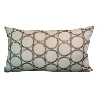 Platinum Circle Pillow