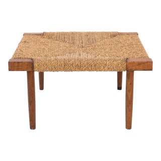 1960s Vintage George Nakashima Fitch Stool or Ottoman For Sale