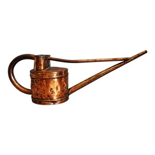 Antique English Copper Watering Can For Sale