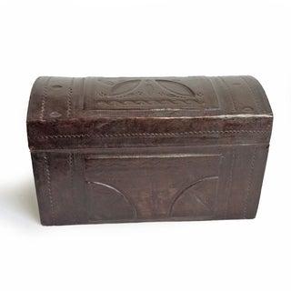 Tuareg Leather Box Preview