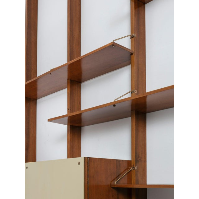 Mid-Century Modern Italian 50s Bookcase For Sale - Image 3 of 11