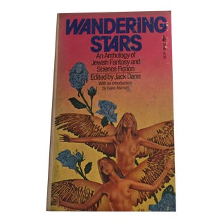 Vintage 1975 Wandering Stars Jewish Sci Fi Book For Sale