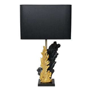 """Leaves"" Lamp by Philippe Cheverny For Sale"