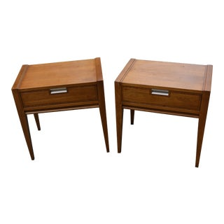 Pair of Vintage Basic Witz Mid-Century Modern Nightstands