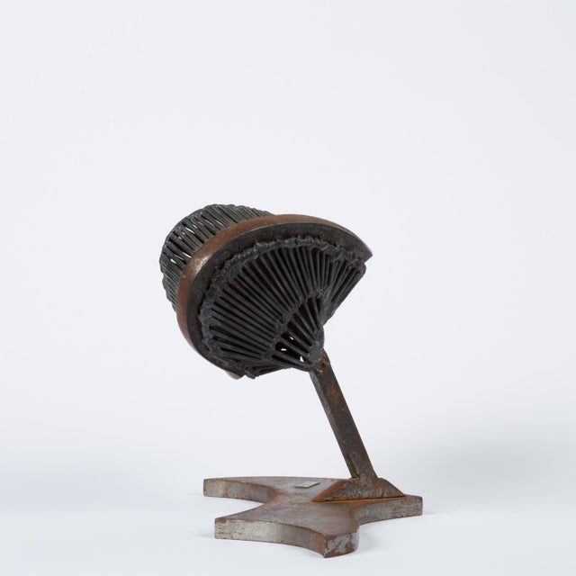 1970s Welded Steel Sculpture by Noval Casteel For Sale - Image 5 of 11