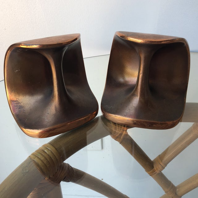 Ben Seibel Ben Seibel Mid-Century Bookends - a Pair For Sale - Image 4 of 6