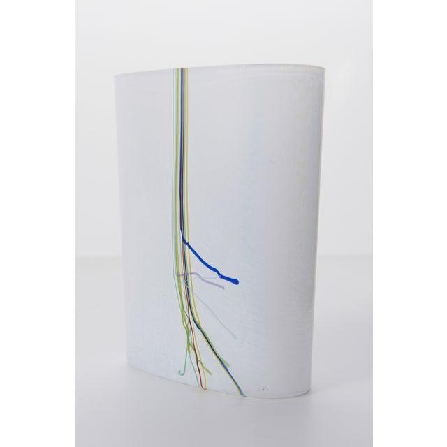 Bertil Vallien Kosta Boda Art Glass Vase - Image 2 of 9