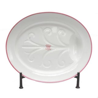 Armorial China Platter For Sale