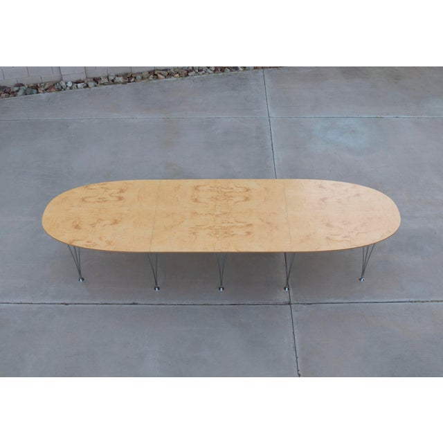 Bruno Mathsson Danish Modern Bruno Mathsson Conference or Dining Table For Sale - Image 4 of 12
