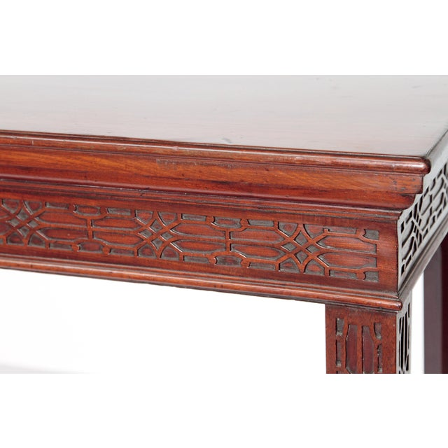 George III Mahogany Side/Serving Table For Sale - Image 10 of 10