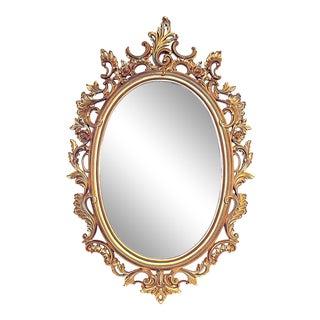 Vintage Rococo-Style Mirror For Sale
