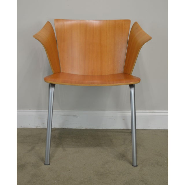 Vico Magistretti for Fritz Hansen Danish Modern Armchair For Sale - Image 10 of 13