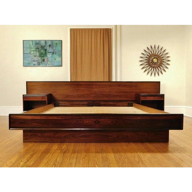 Westnofa Danish Modern Rosewood California King Platform