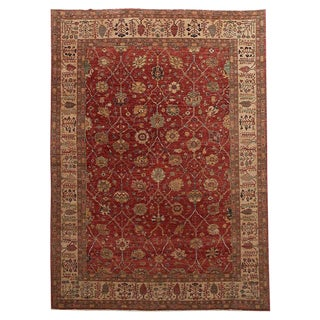 Modern Persian Mahal Style Rug From Pakistan For Sale