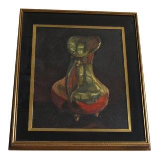 Ben Wilks Painting Brass Jug #12