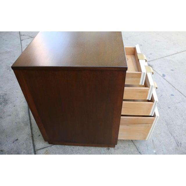Brown Edward Wormley Drop Leaf Desk For Sale - Image 8 of 13