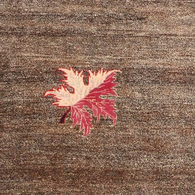 Vintage Art Deco Persian Mashad Khorassan rug.