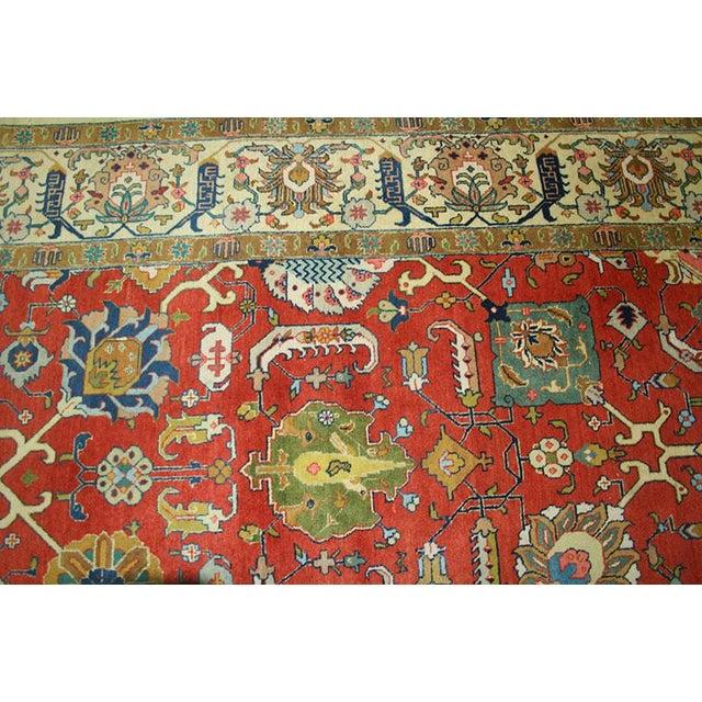 "Antique Signed Decorative Persian Tabriz Rug - 9'6"" x 12'11"" - Image 2 of 6"