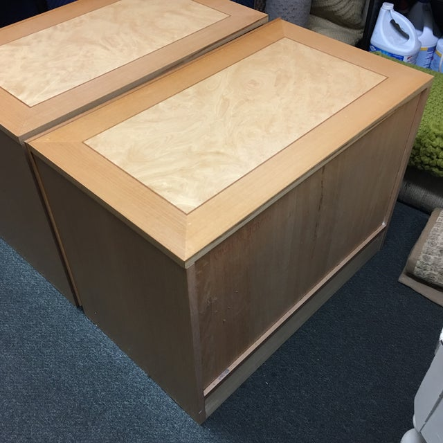 Custom Maple Nightstands - A Pair - Image 10 of 10
