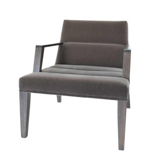 Mohair Elana Chair by Bright For Sale