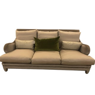 Early 21st Century Vintage Schumacher Wave Sofa- Sample For Sale